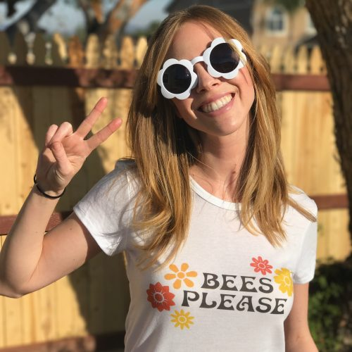 bees please tee