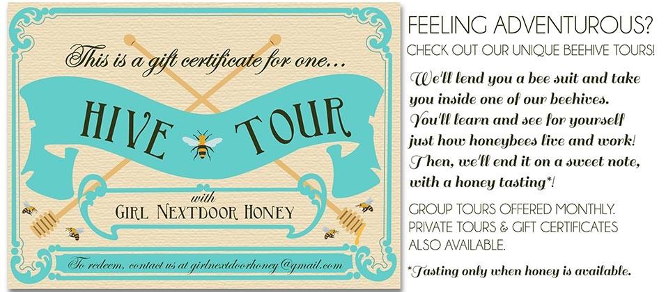 Hive Tour